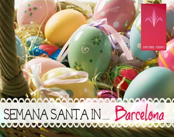 Апрель - месяц пасхальных страстей и удовольствий  в Испании  или туры в Барселону в апреле от туроператора Империал Тревел