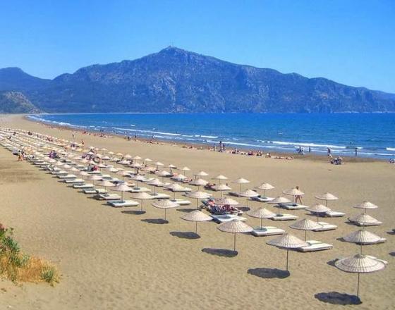 Турагенту в копилку: пляжи Турции, где песок, галька, плиты?