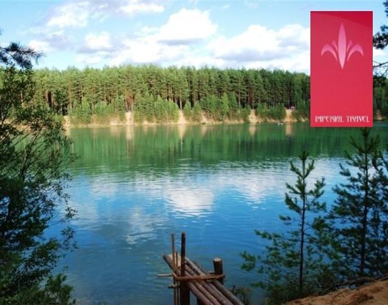 Голубые озёра - уникальное место отдыха в Украине