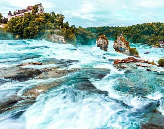 Рейнский водопад с Аккордом