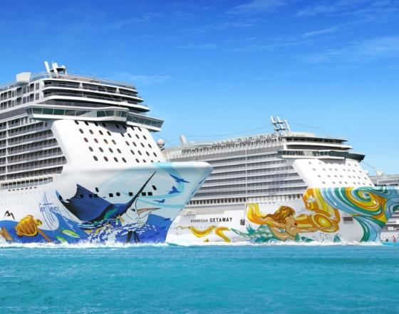 """Новый формат круизного отдыха """"freestyle"""" от Norwegian Cruise Line"""