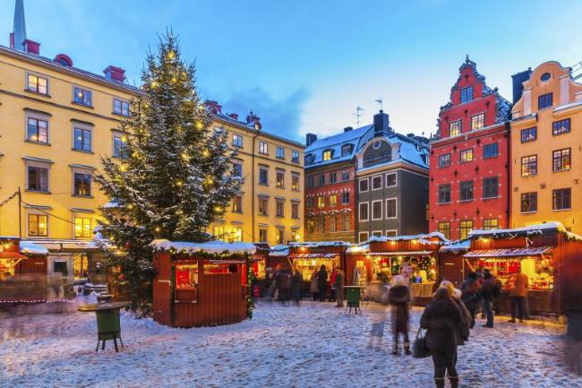 Stortorgets Julmarknad, Стокгольм, Швеция