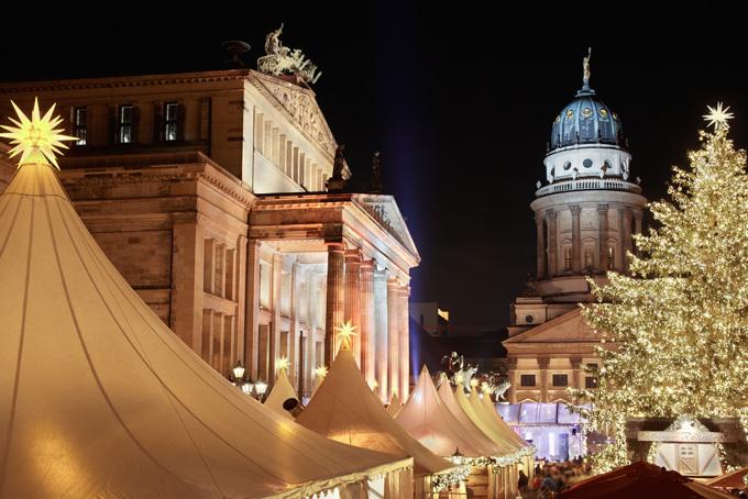 Weihnachtszauber Gendarmenmarkt, Берлин, Германия