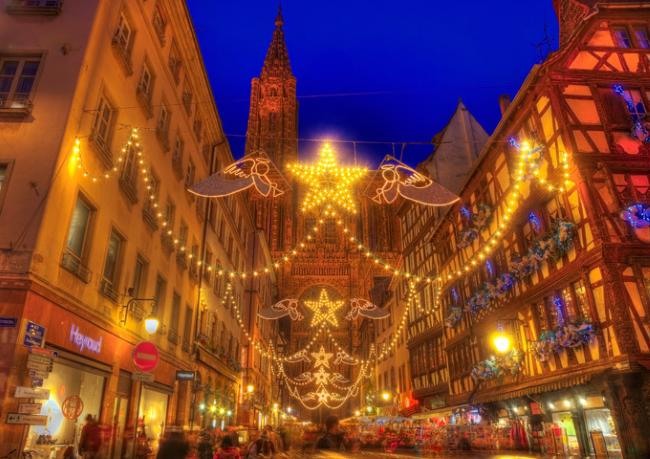 Marchés de Noël, Страсбург, Франция