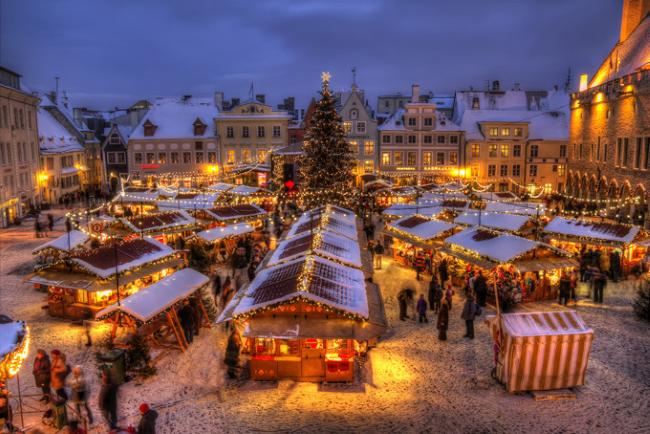 Tallinna Jõuluturg, Таллин, Эстония