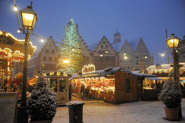 Frankfurter Weihnachtsmarkt, Франкфурт, Германия