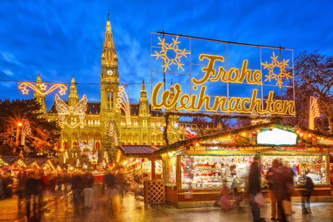 Wiener Christkindlmarkt, Вена, Австрия