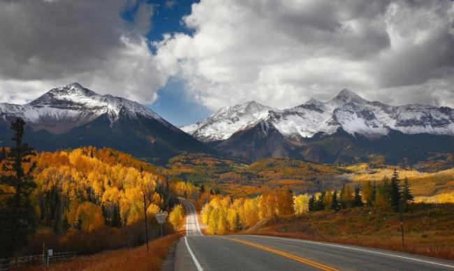 Дорога, которая уходит в рай, Аспен, США