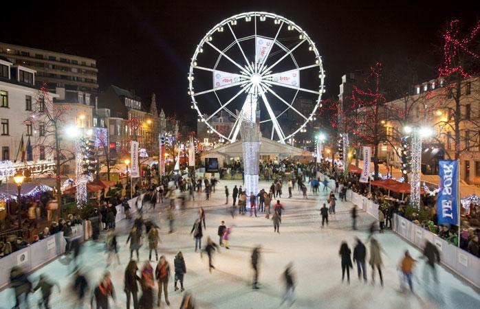 Площадь Святой Екатерины, Гран-Плас и Рыбный рынок – Брюссель, Бельгия