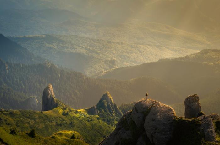 В горах мы ближе к себе настоящим, чем в городах.