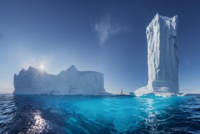 Небоскребы Гренландии.