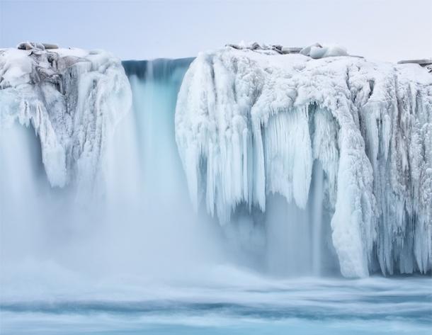 Водопад Годафосс или «водопад Бога»
