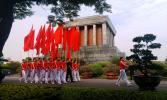 Вьетнам. Ханой. Мавзолей Хошимина