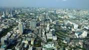 Таиланд. Бангкок. Панорама современных кварталов с башни Baiyoke