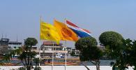 Таиланд. Бангкок. Набережная реки Чао Прайя