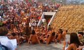 Остров Бали. Храм Улувату. Традиционный танец Кечак