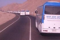 В Египте под Луксором местные жители заблокировали 38 автобусов с туристами