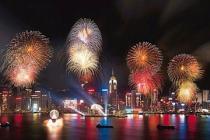 На Новый год в Гонконге туристам покажут грандиозное пиротехническое шоу