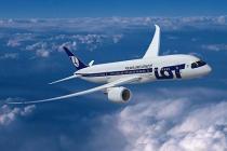 Авиакомпания LOT увеличивает частоту полетов из Варшавы в Донецк