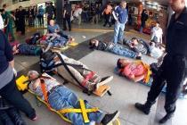 Поезд врезался в перрон станции в Аргентине, пострадали 340 человек