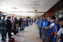 Паспортный контроль аэропорта Бангкока не справляется с пассажиропотоком