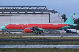 Роза Ветров увеличит флот на два Airbus A321