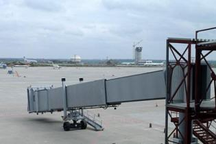Харьков стал третьим в Украине аэропортом с телетрапами