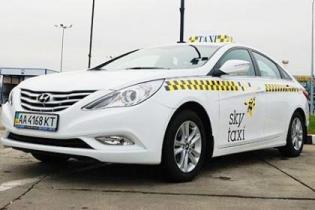 """Аэропорт """"Борисполь"""" получил 40 машин Hyundai для своего Sky Taxi"""