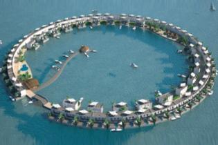 Мальдивы построят плавучие острова, чтобы спастись от непрерывно наступающего моря