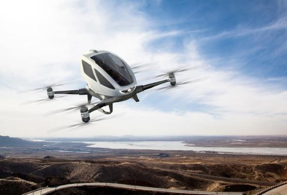 В Дубае запускают летающее такси