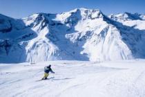 На альпийских горнолыжных курортах выпал свежий снег