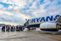 Названы тарифы и направления Ryanair из Украины