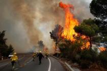 Пожары в Хорватии влияют на планы туристов