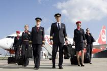 Пилоты Air Berlin без предупреждения остановили полеты