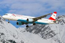 Austrian Airlines запустит рейс в Инсбрук в зимнем сезоне