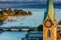Опубликовано расписание и цены на новые рейсы Киев-Цюрих
