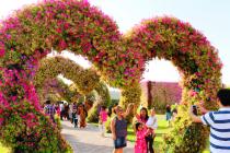 """В Дубае вновь открылся """"Чудесный сад"""""""
