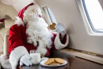 Пассажиры каких украинских рейсов встретят Новый год в полете