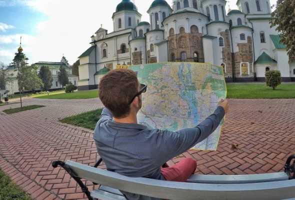 Киев становится все популярнее у туристов