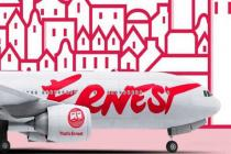 Лоукостер Ernest в 2018 году открывает три новых рейса из Киева и Львова