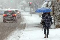 В Европе снегопады и аномально холодно