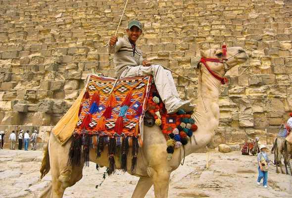 """Пирамиды в Египте """"очистят"""" от торговцев и верблюдов"""