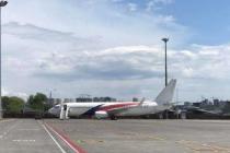 Авиакомпания SkyUp отменила перекраску лайнера, чтобы раньше начать полеты