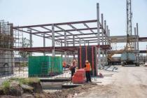 В аэропорту Запорожье начали монтаж терминала