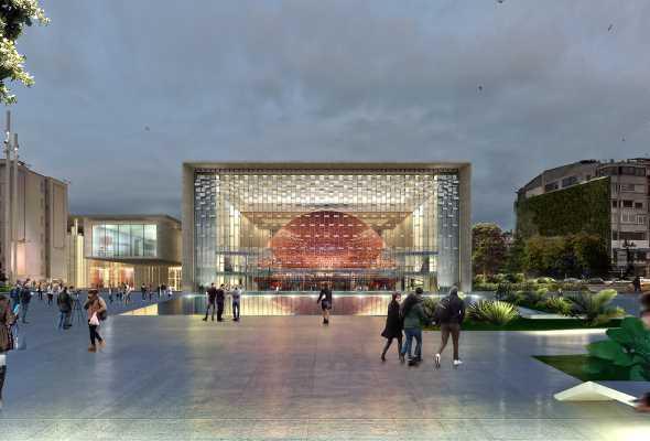 Картинки по запросу Стамбульский культурный центр станет архитектурным символом города