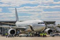 В аэропорту Харьков объяснили ситуацию с запретом на полеты самолета SkyUp