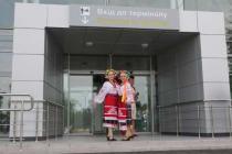 Обновленный аэропорт Полтава принял первый рейс